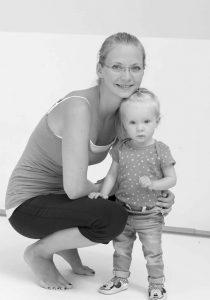 Natalie mit ihrer Tochter